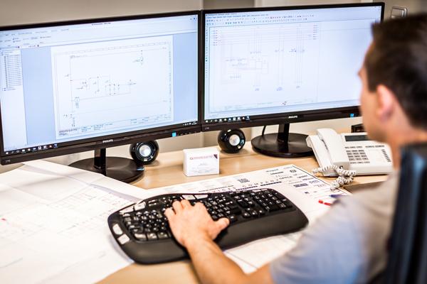 elektrische engineering van bedrijven